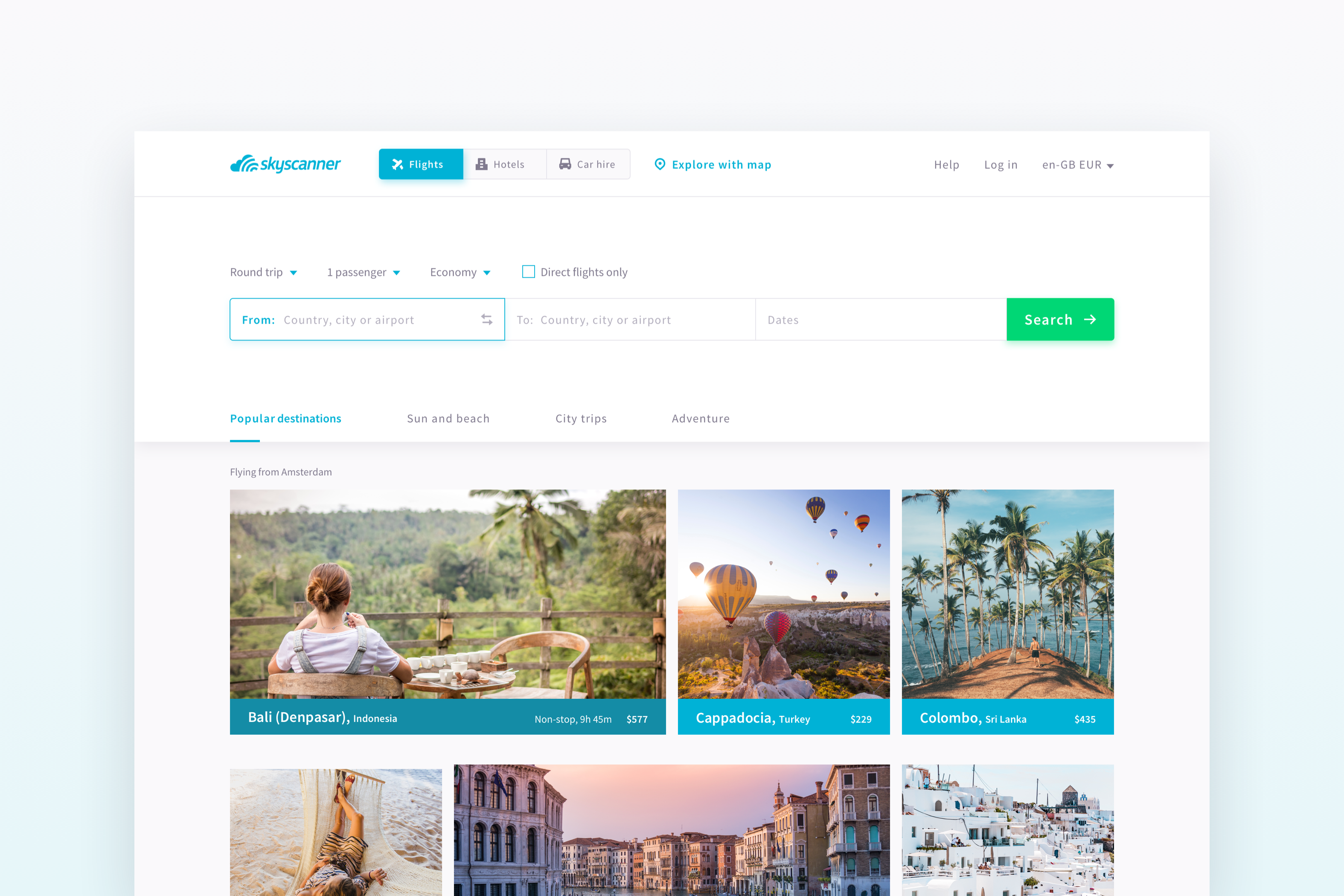 Skyscanner — a UX case study