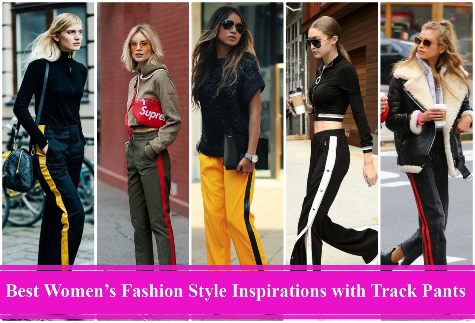 best womens fashion style inspirations track pants manufacturers