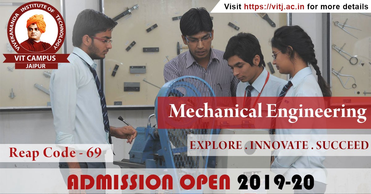 Scope for Mechanical Engineers after B Tech - VIT Jaipur