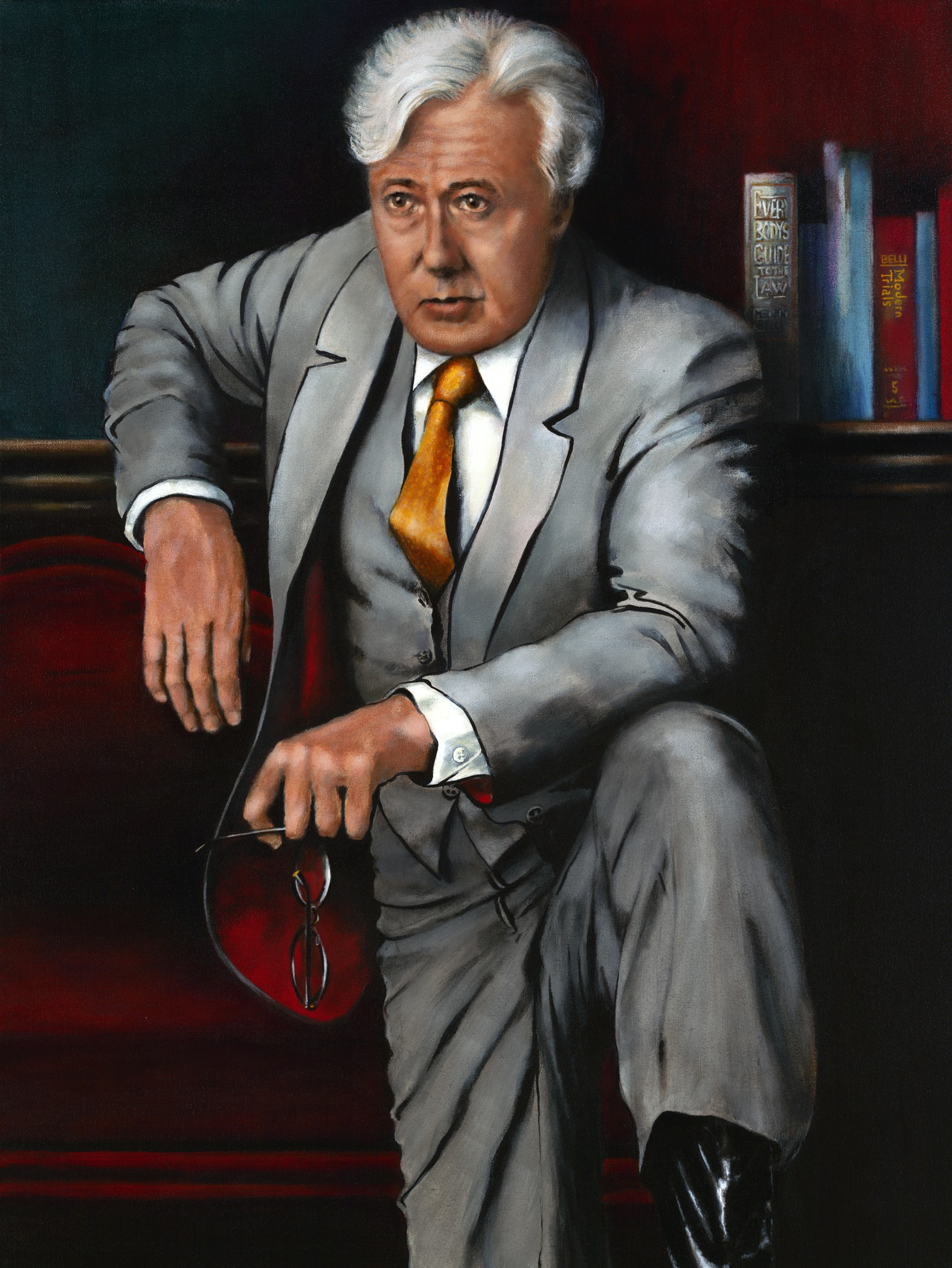 Melvin Belli (1907–1996). ​ | by Trial Lawyer National Portrait ...