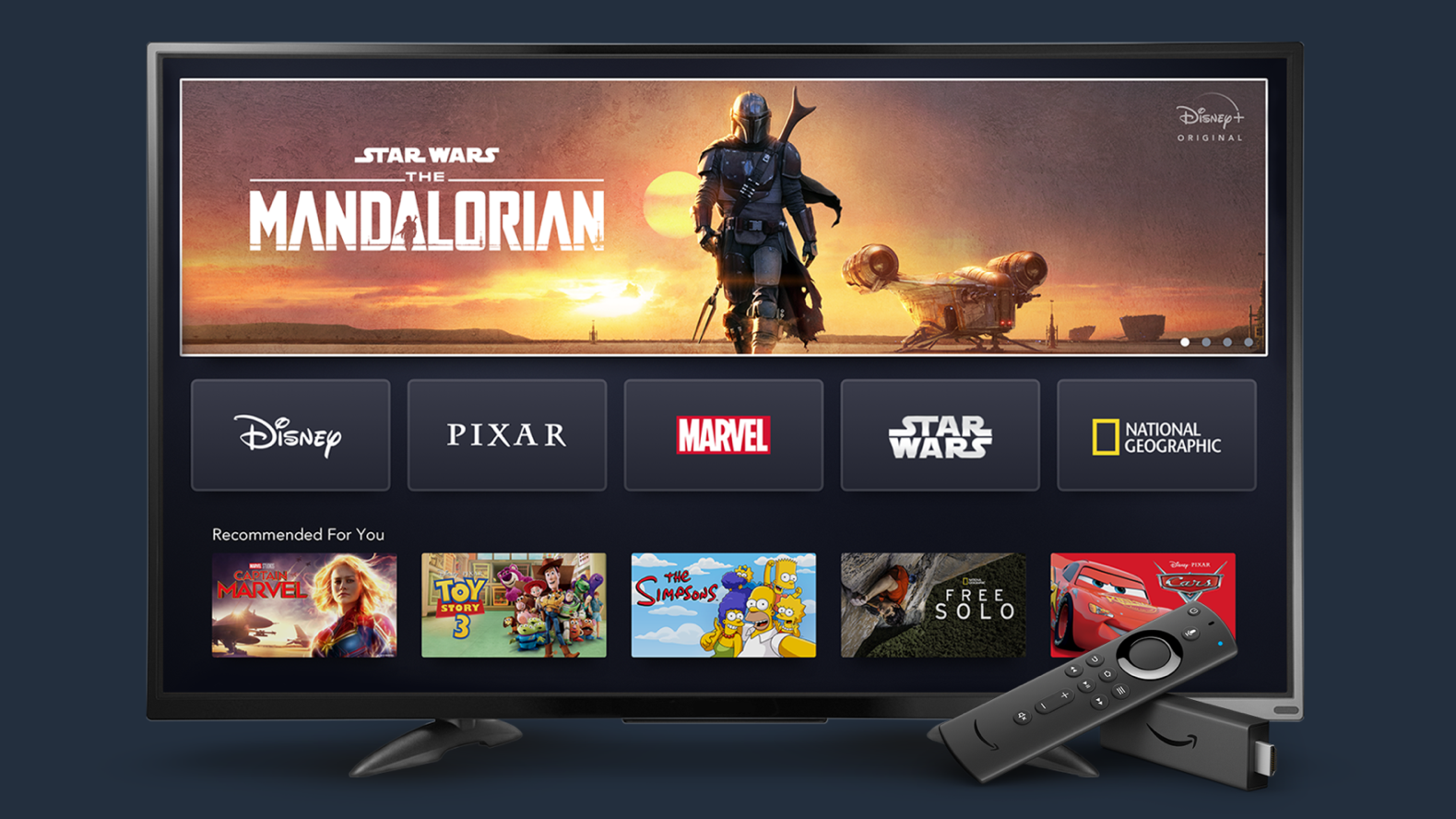 Disney+ Fire Tv