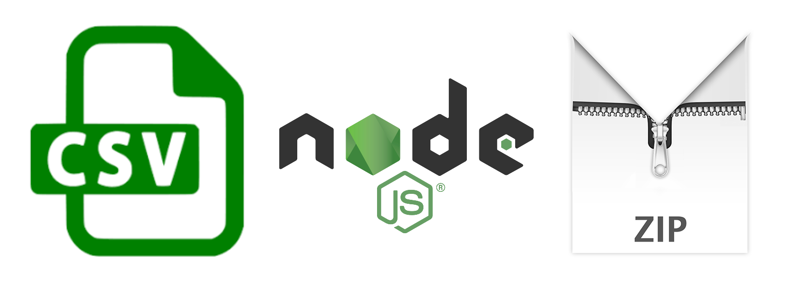 Creating CSV and ZIP files With Node js - Better Programming