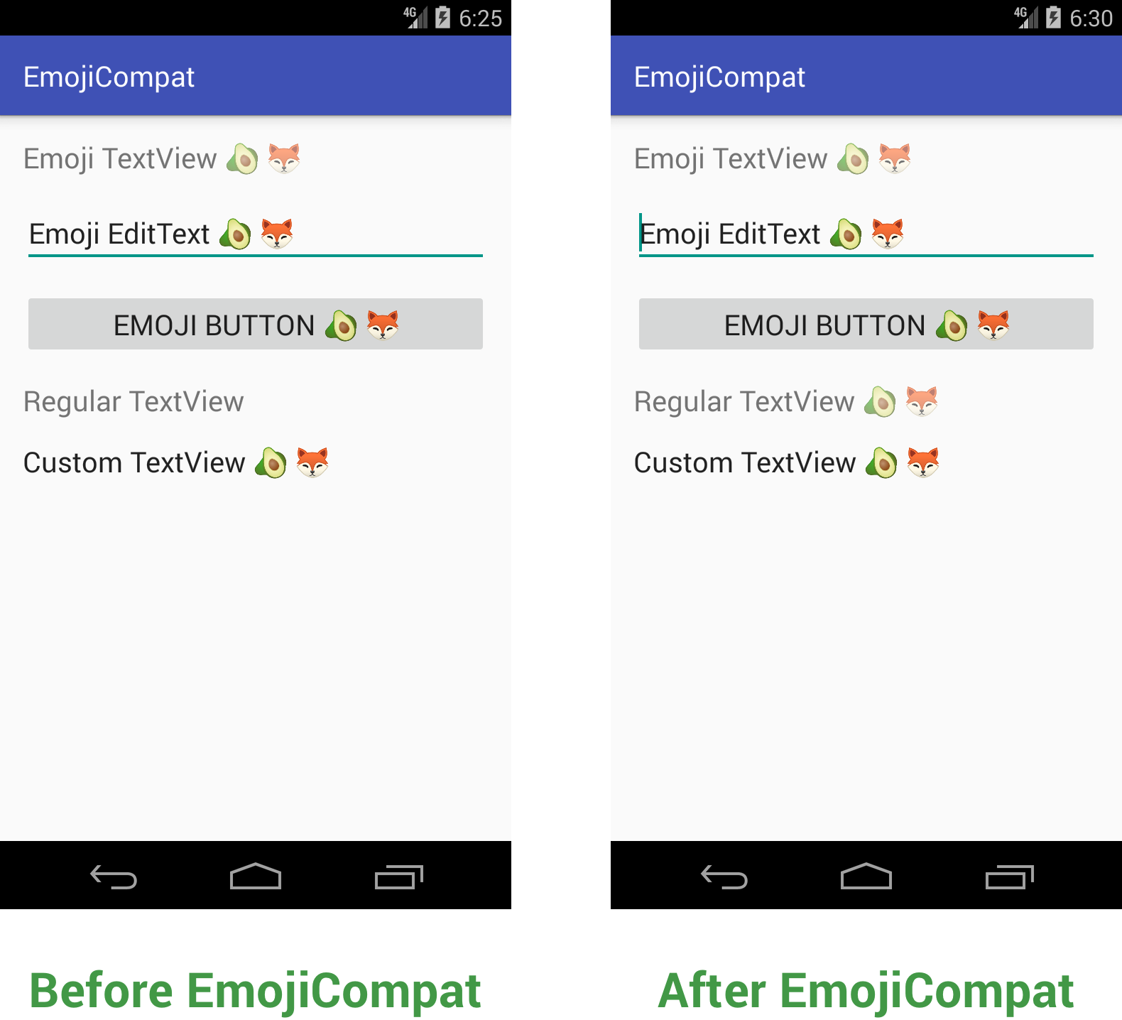 Exploring the Android EmojiCompat Library - Exploring