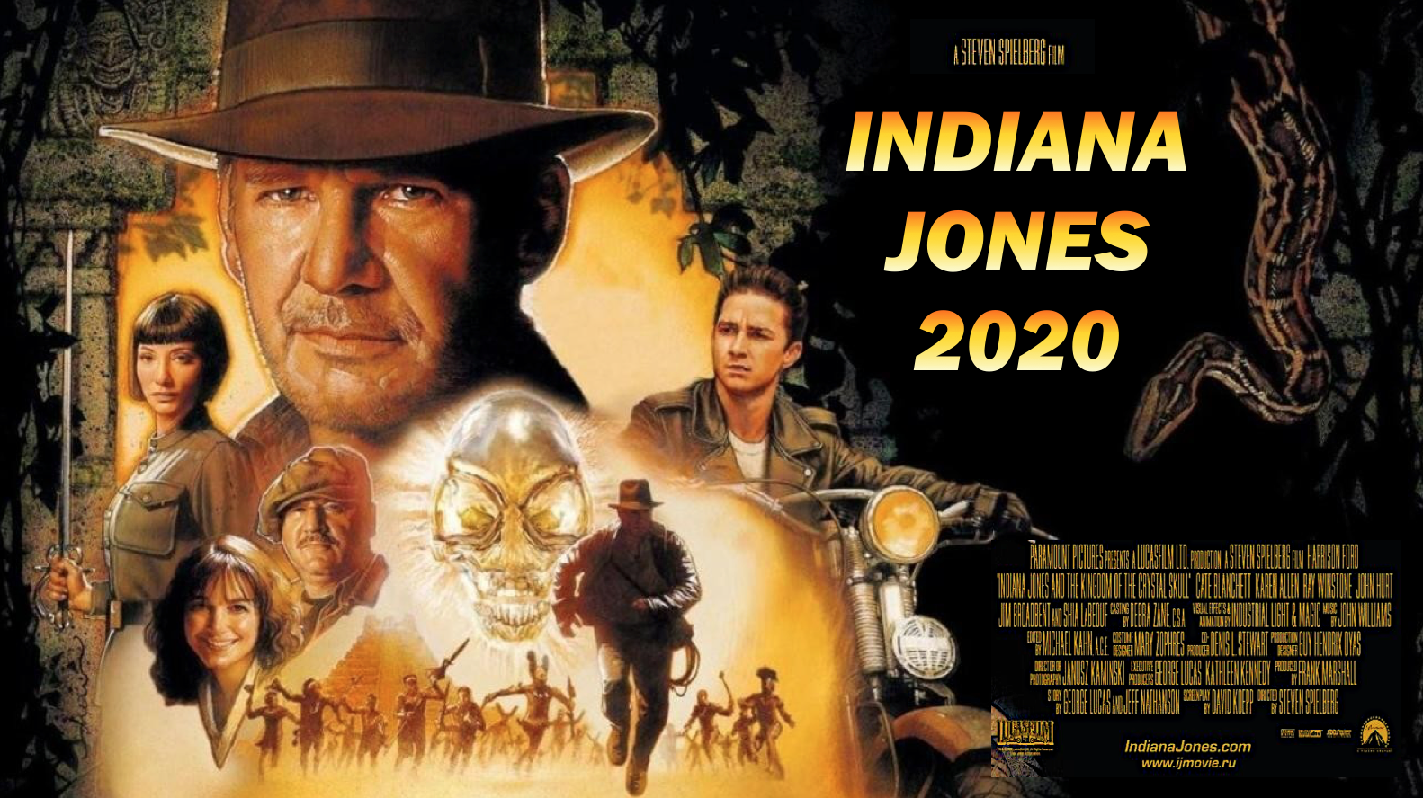 Why did it take almost 20 years for the fourth Indiana Jones