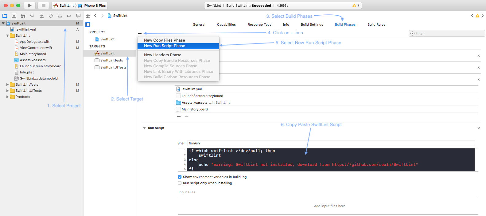 How to use SwiftLint with Xcode to enforce Swift style and