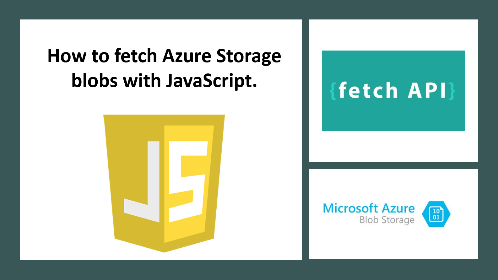 How to fetch Azure Blob Storage with JavaScript - Microsoft