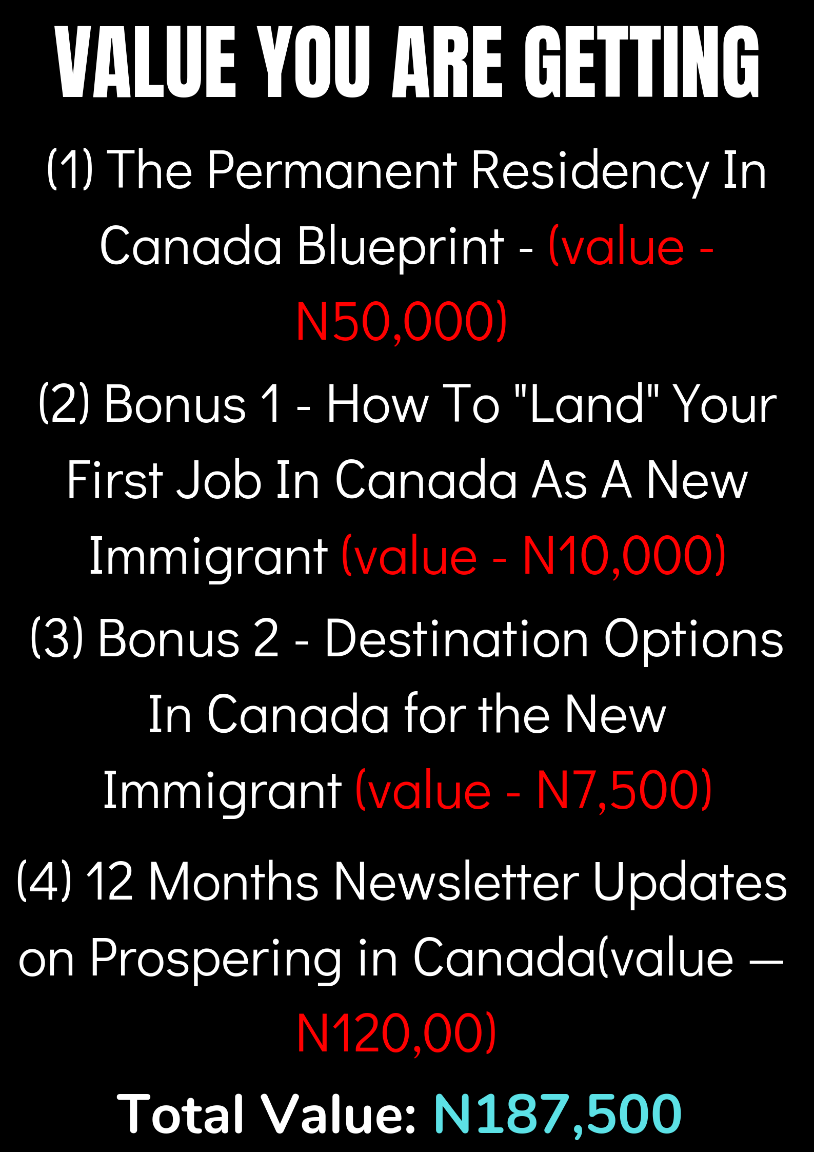 5+ Nigerians Who Wanted Relocating to Canada from Nigeria
