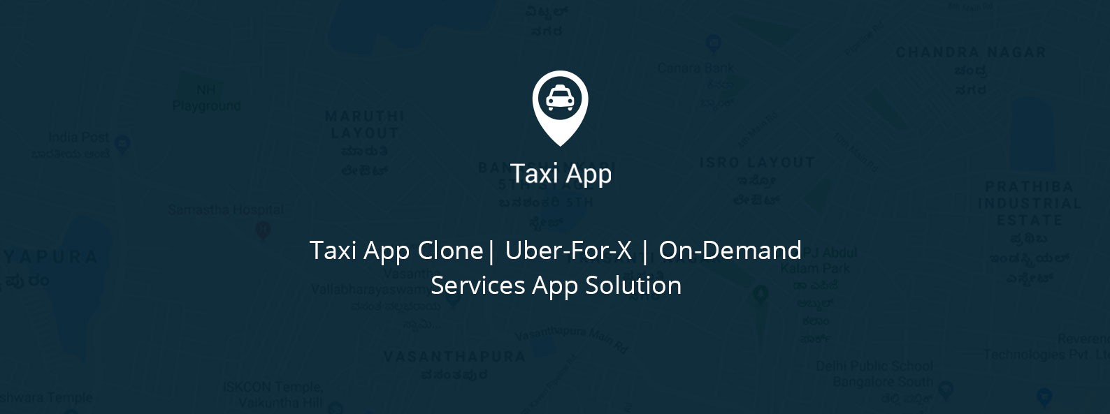 Taxi App Clone| Taxi Services| On-Demand Services App Solution