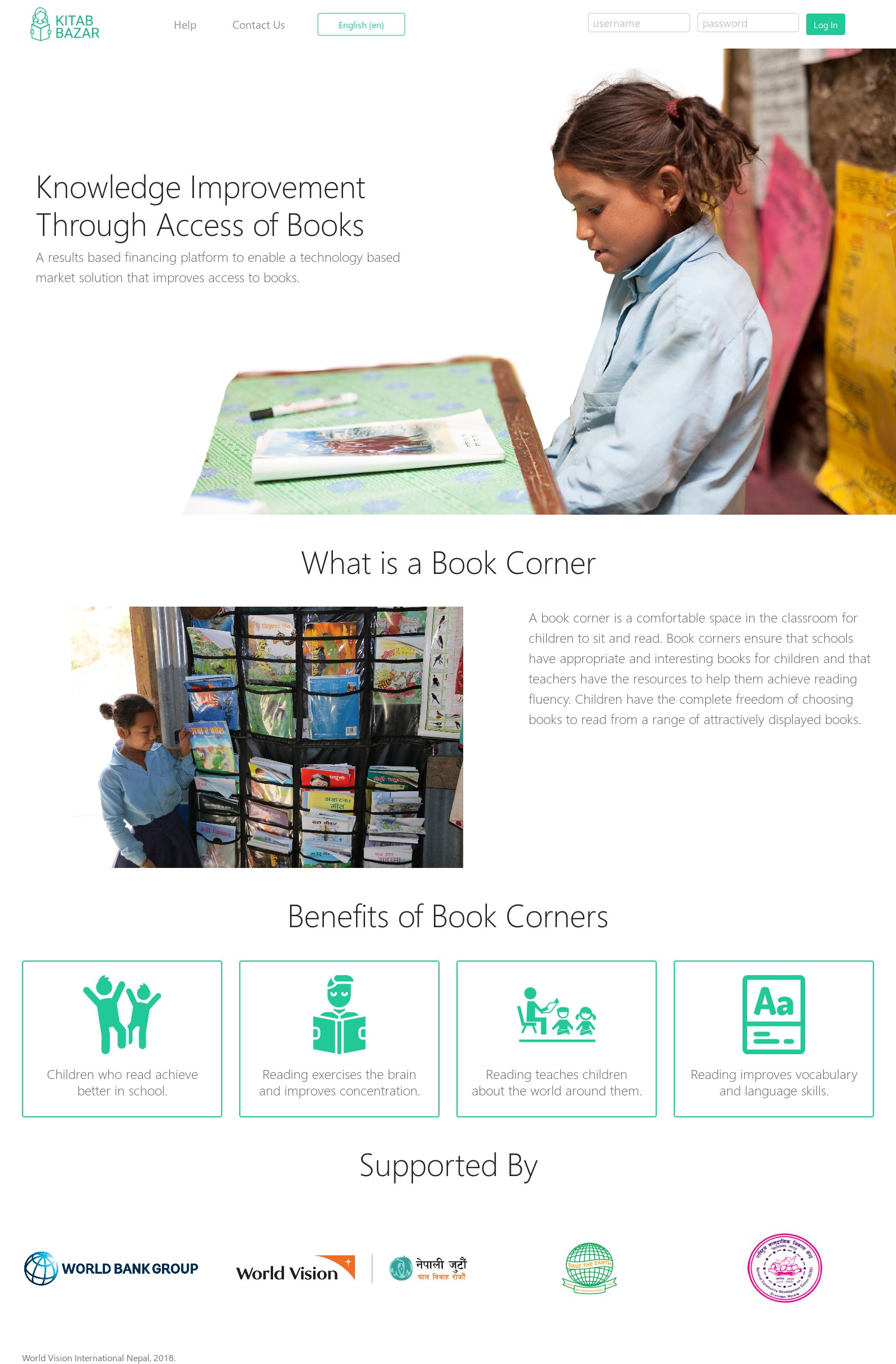 Digital Platform Empowering Reading And Learning In Nepal's