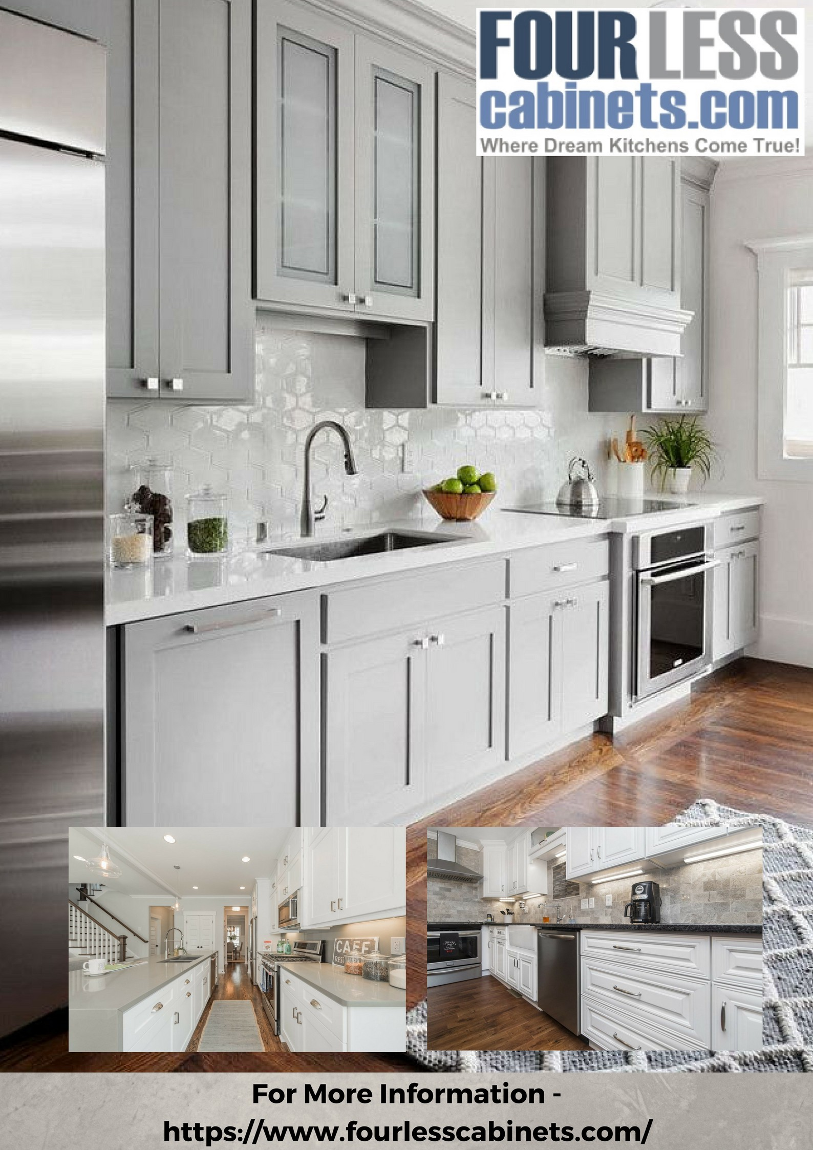 Shaker Cabinets — FourLessCabinets - Four Less Cabinets - Medium