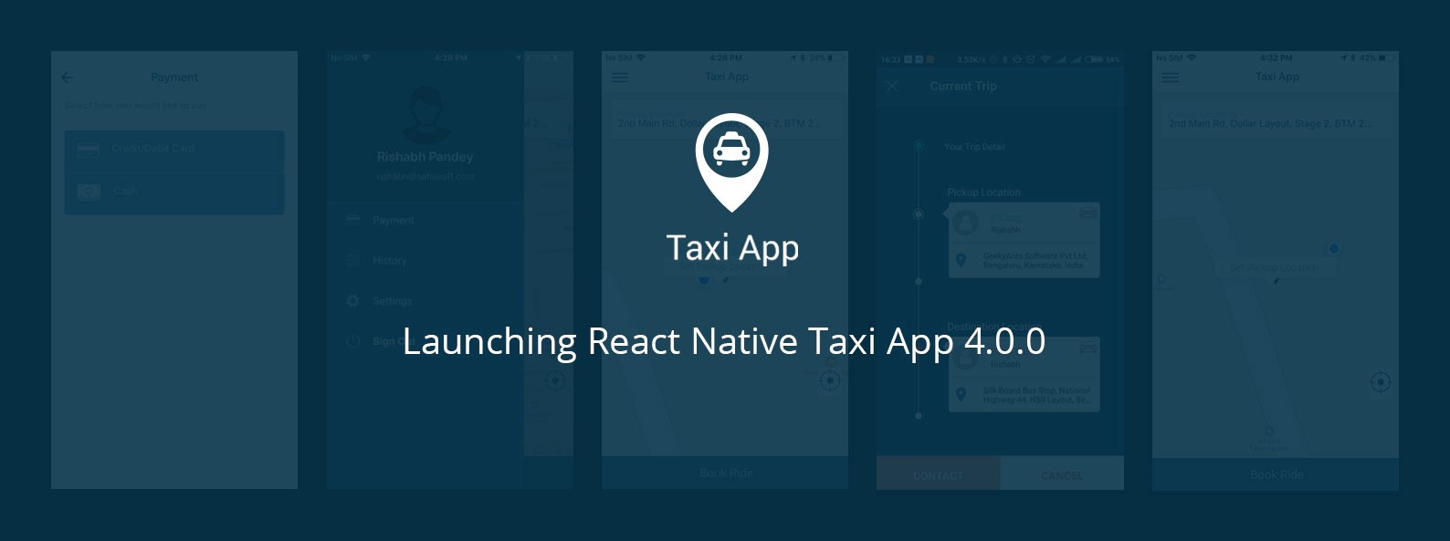 Launching React Native Taxi App 4 0 0 - The GeekyAnts Blog