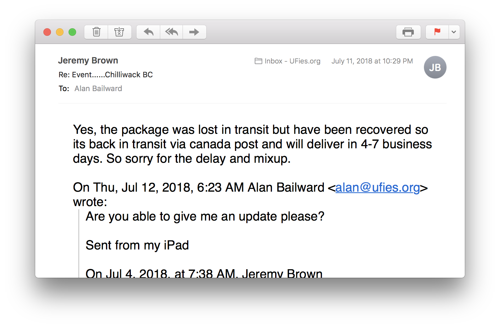 Another Day, Another Scammer - Alan Bailward - Medium