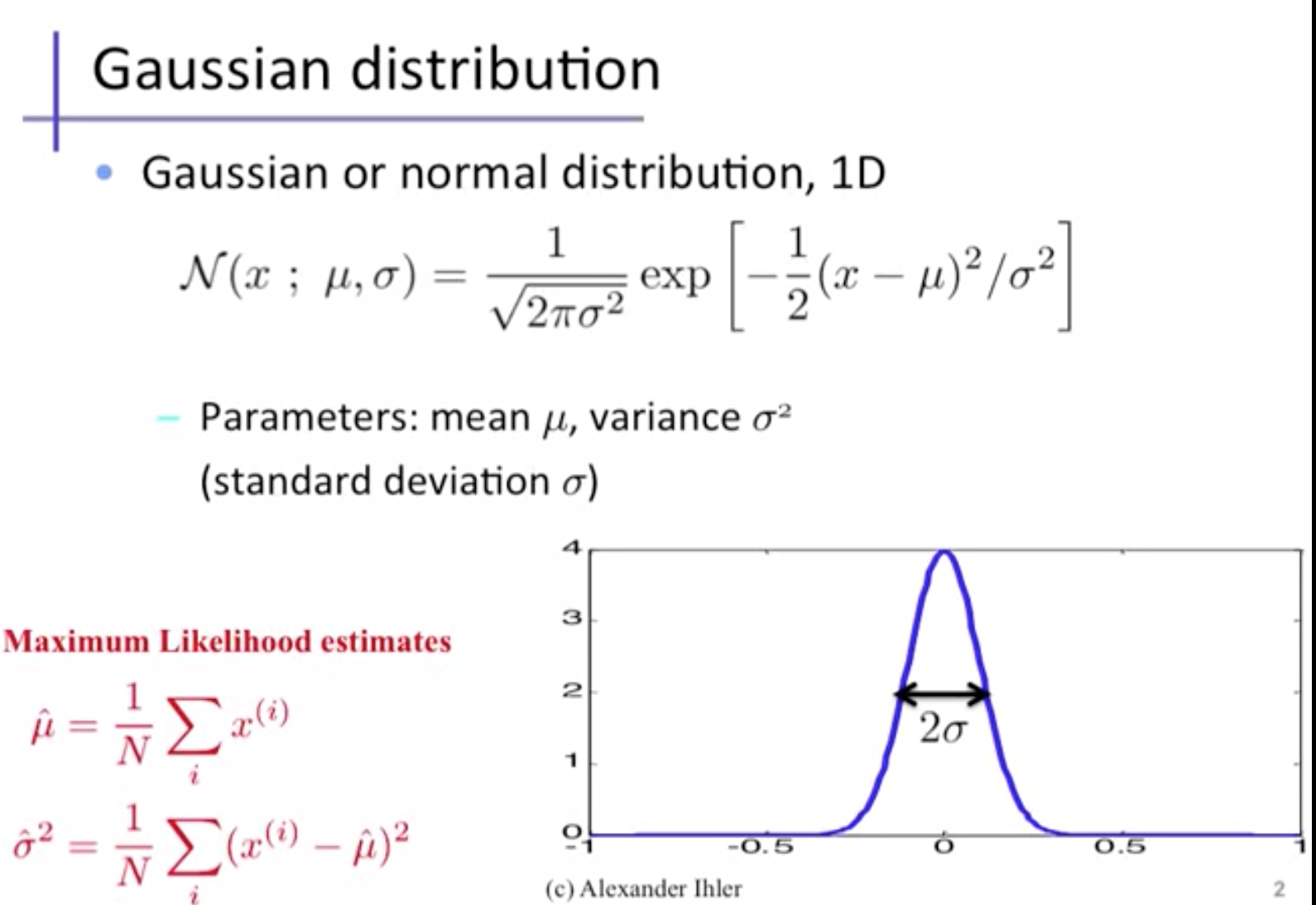 Archived Post ] Multivariate Gaussian distributions and
