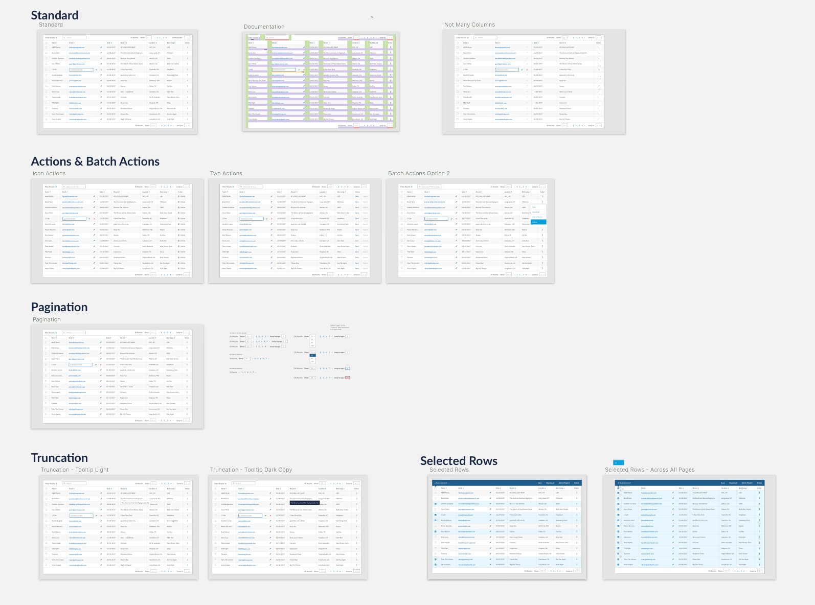 Designing Tables for Reusability - UX Collective