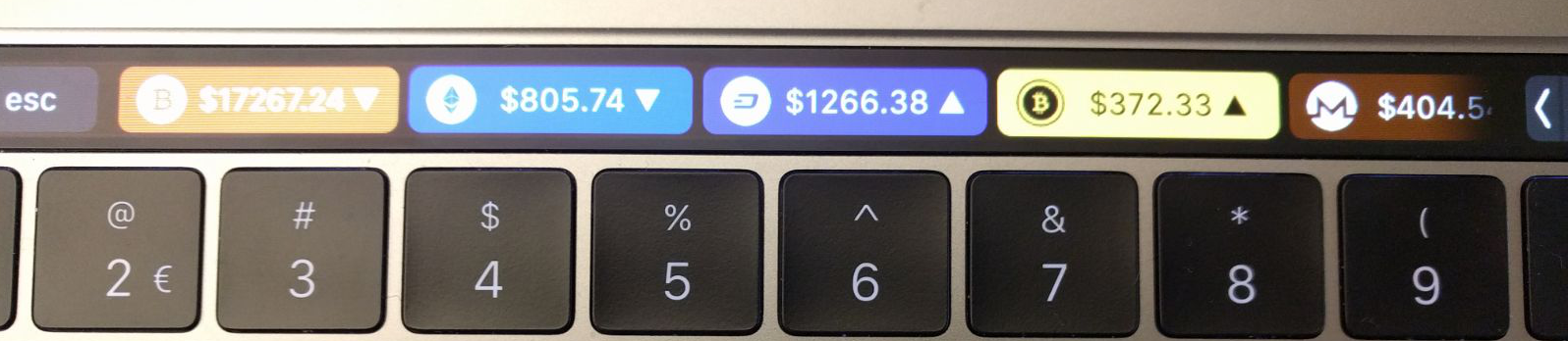 Building a Crypto Price Tracker for Touch Bar - ITNEXT