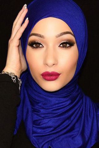 Trendy Hijab Styles For A Beautiful You By Benaat Fashion Medium