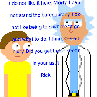 Kiss Cartoon Rick And Morty Quotes By Sam Medium I drew your babies from your oc collection, painter doofus rick and hooker rick. kiss cartoon rick and morty quotes