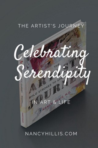 The Artist's Journey by Nancy Hillis, MD | An inspiring exhortation with psychological and philosophical underpinnings to move you closer and closer to your deepest self expression in art and life. #theartistsjourney #artistsjourney #nancyhillis #nancyhillisstudio #creativity #abstract