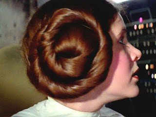 The Secret To Carrie Fisher S Famous Princess Leia Hair Buns By Renee Nicole Gray Medium