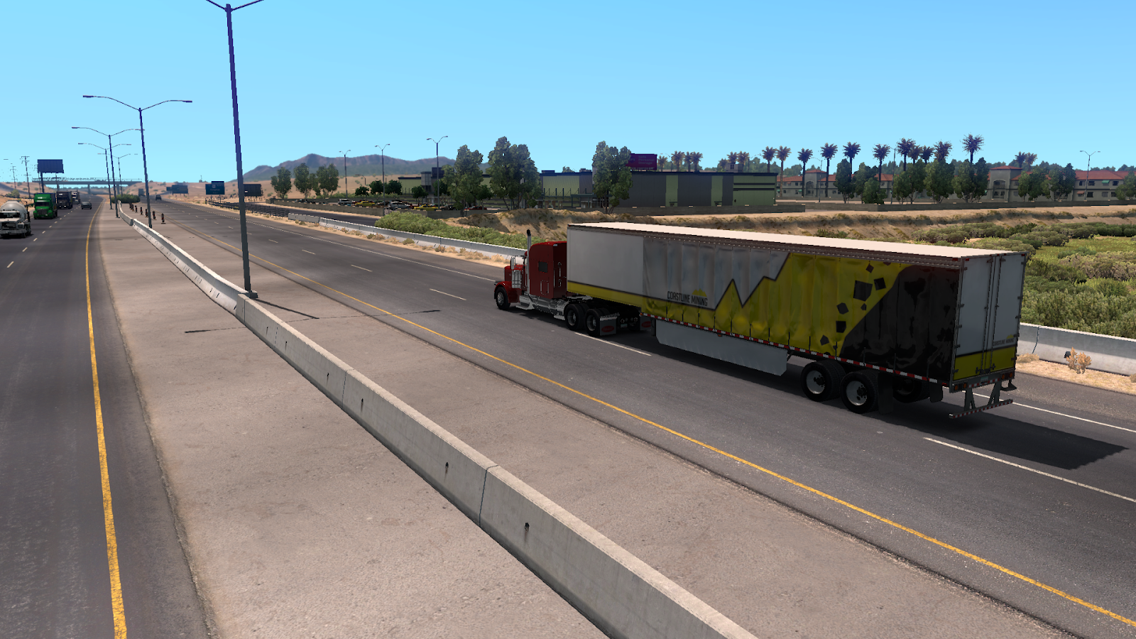That Lonesome Road: American Truck Simulator, Disability