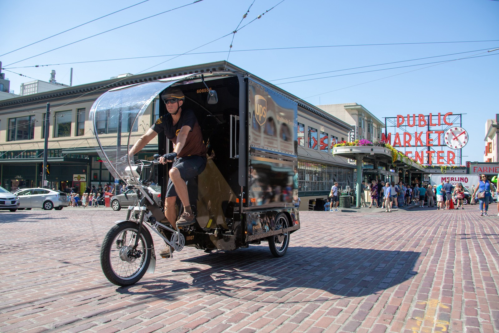 UPS to Deliver Packages by eCargo Bike in Seattle - Bike