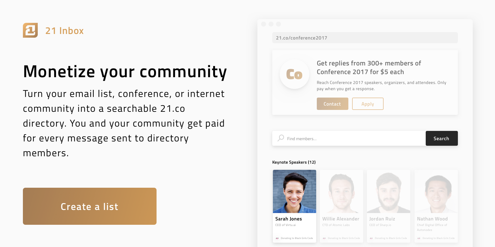 Monetize your conference with Earn com - news earn com