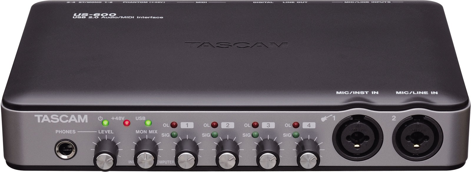 How to connect your TASCAM US-600 with MacOS Mojave