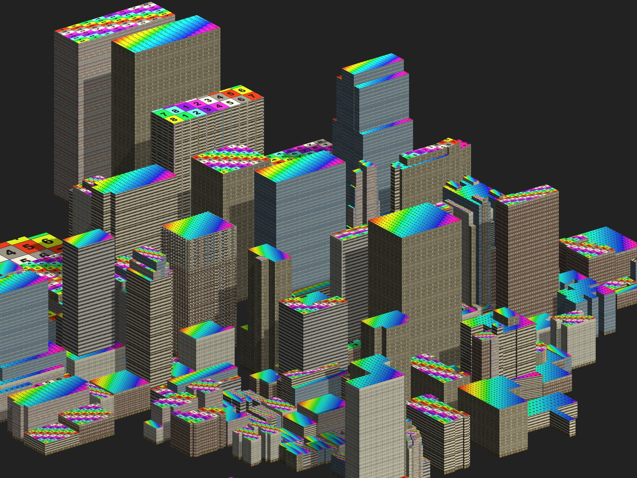Rooftop UV Mapping in Unity - Points of interest
