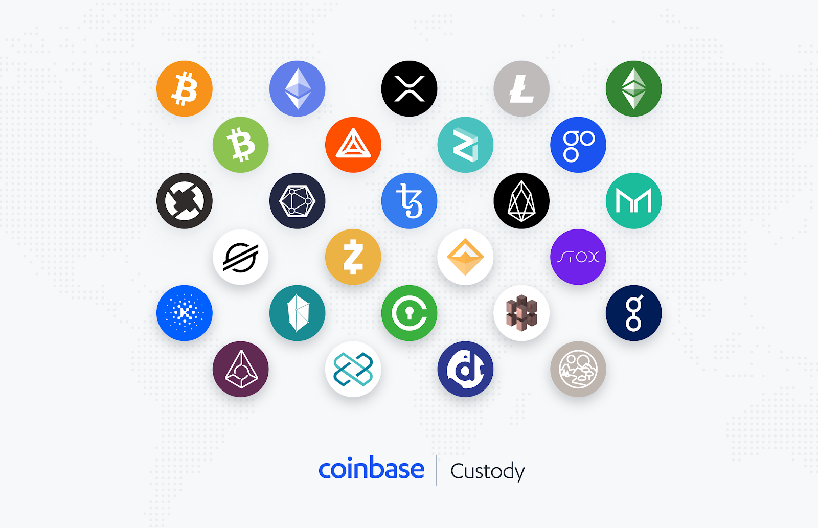 30+ assets now supported on Coinbase Custody - The Coinbase Blog