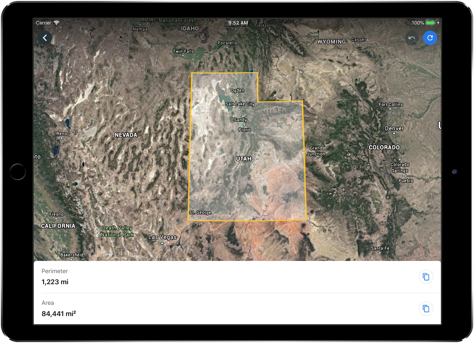 Introducing the Measure Tool for Google Earth on iOS on google maps for windows phone, google maps for windows 8, gps maps for ipad, google maps for iphone, google maps for kindle fire, google maps for android, google play for ipad, google maps for car, google drive for ipad, google chrome for ipad,