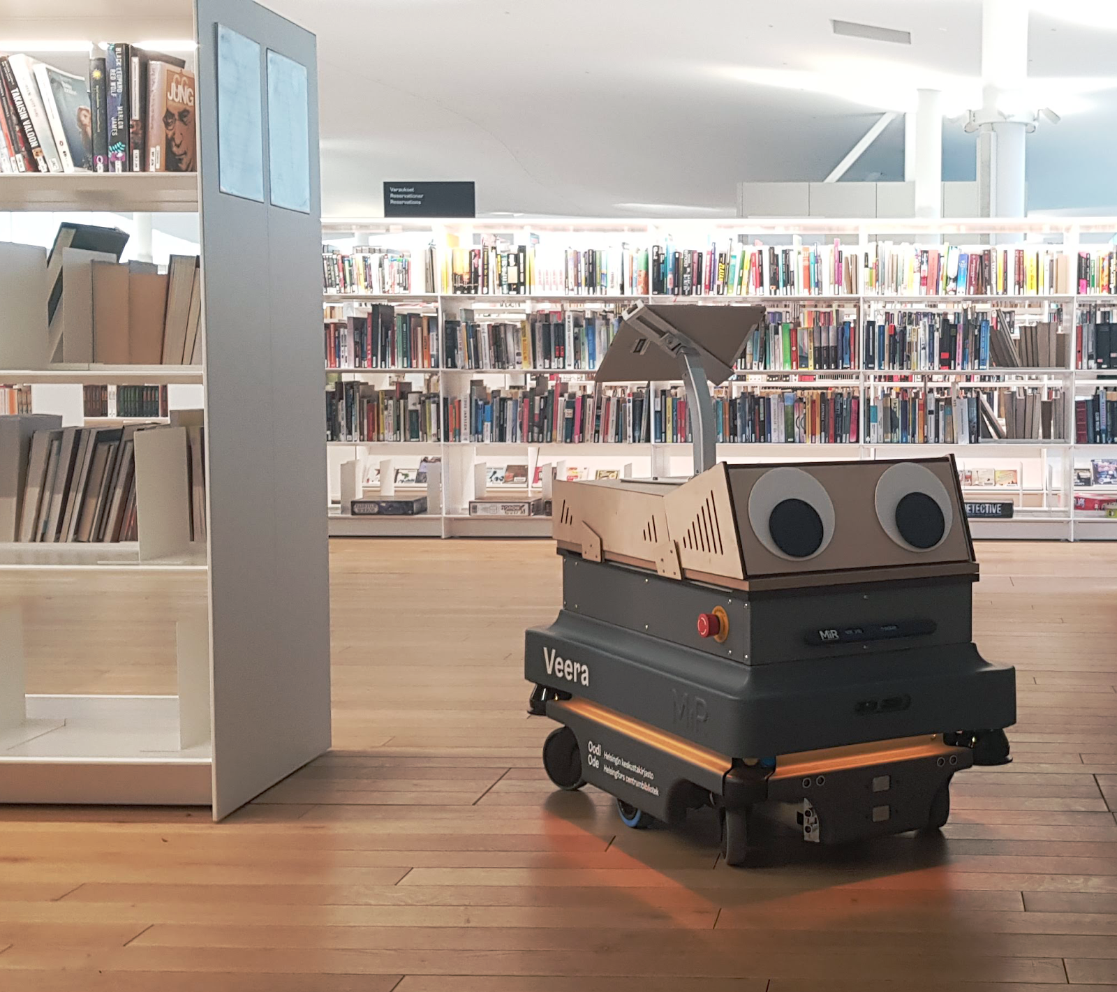 The Little Robot That Lived At The Library Towards Data