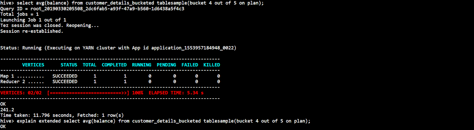 Bucketing in Hive : Querying from a particular bucket