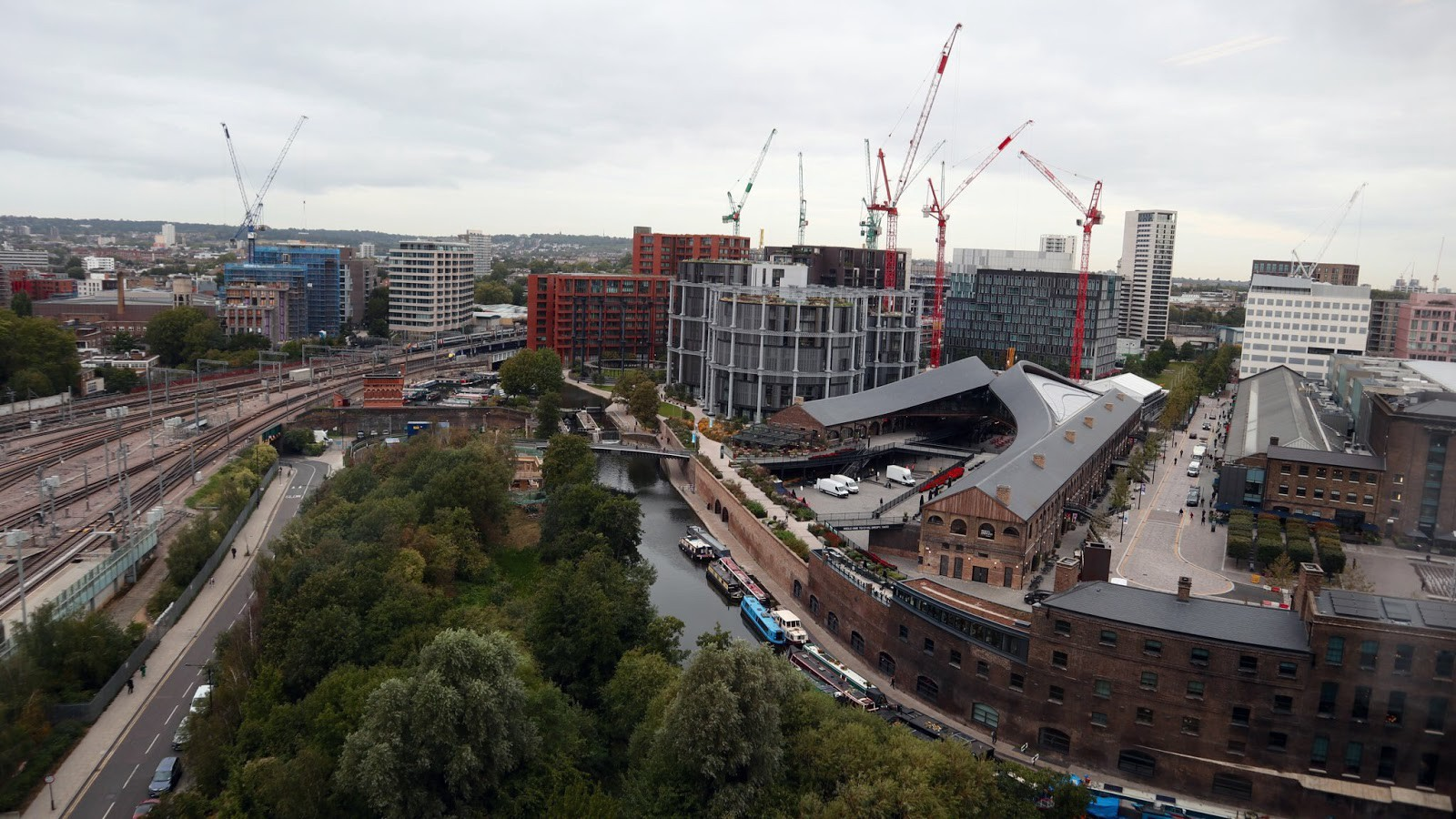 Views from the top of Camden Council