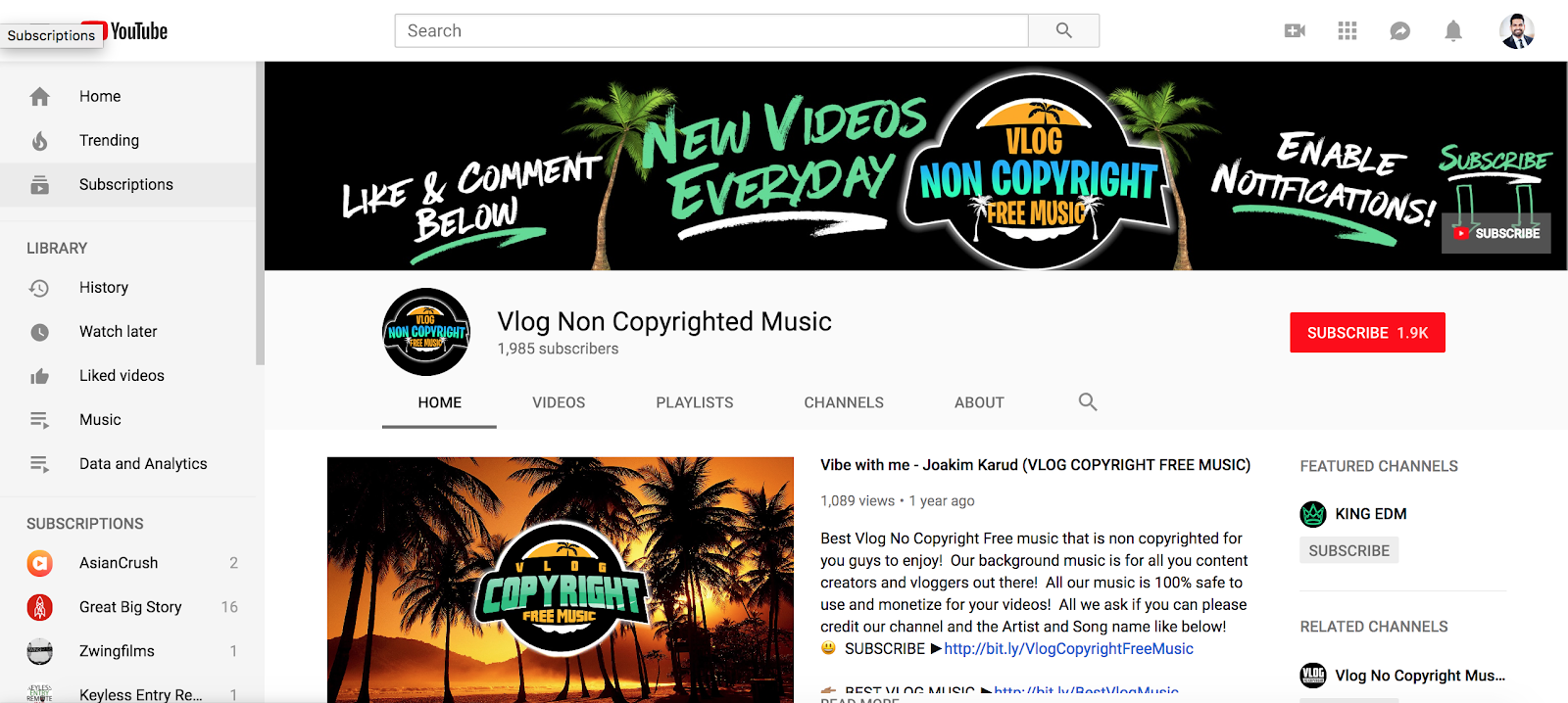 25 Amazing Places To Find Free Music For Your Videos By Timur Daudpota Medium