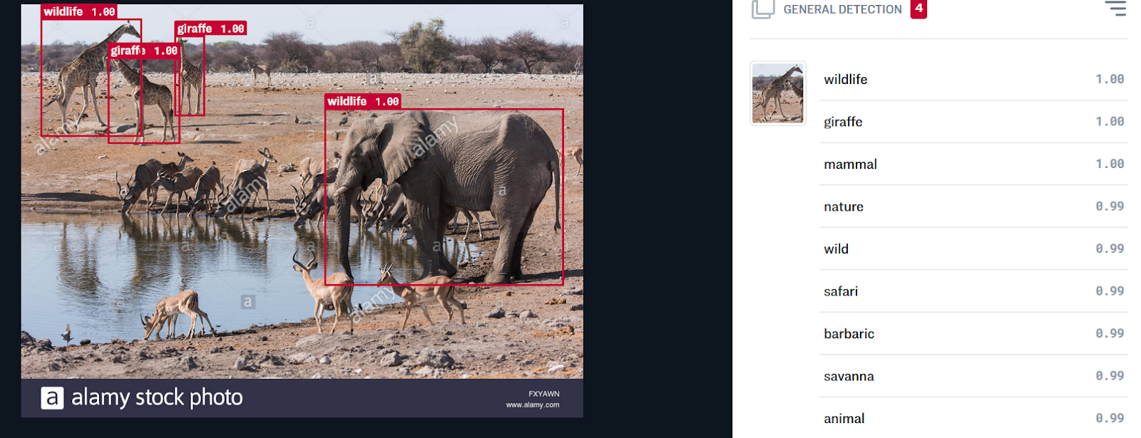 AI-Compare (www.ai-compare.com) — Object Detection API of Clarifai