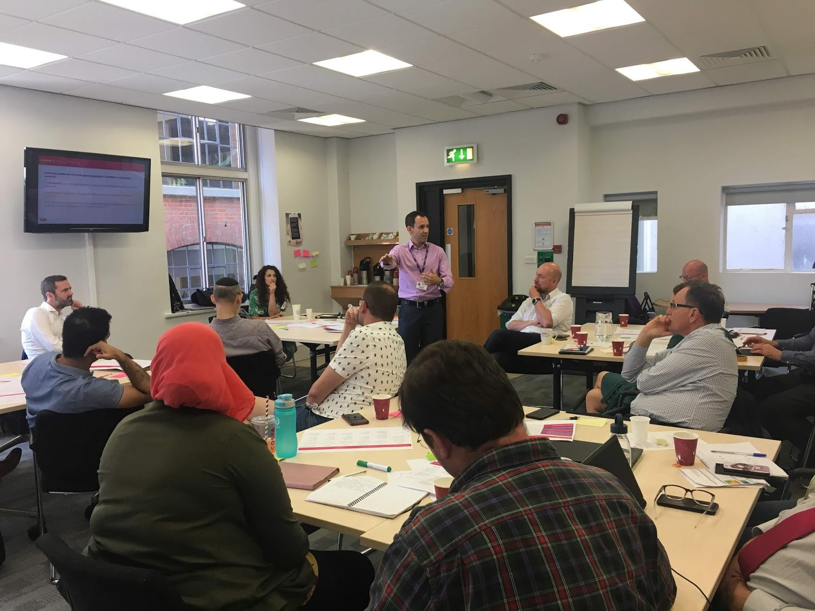 Eddie Copeland (Director, LOTI) explains the possible tools and processes LOTI would be piloting to the member boroughs.