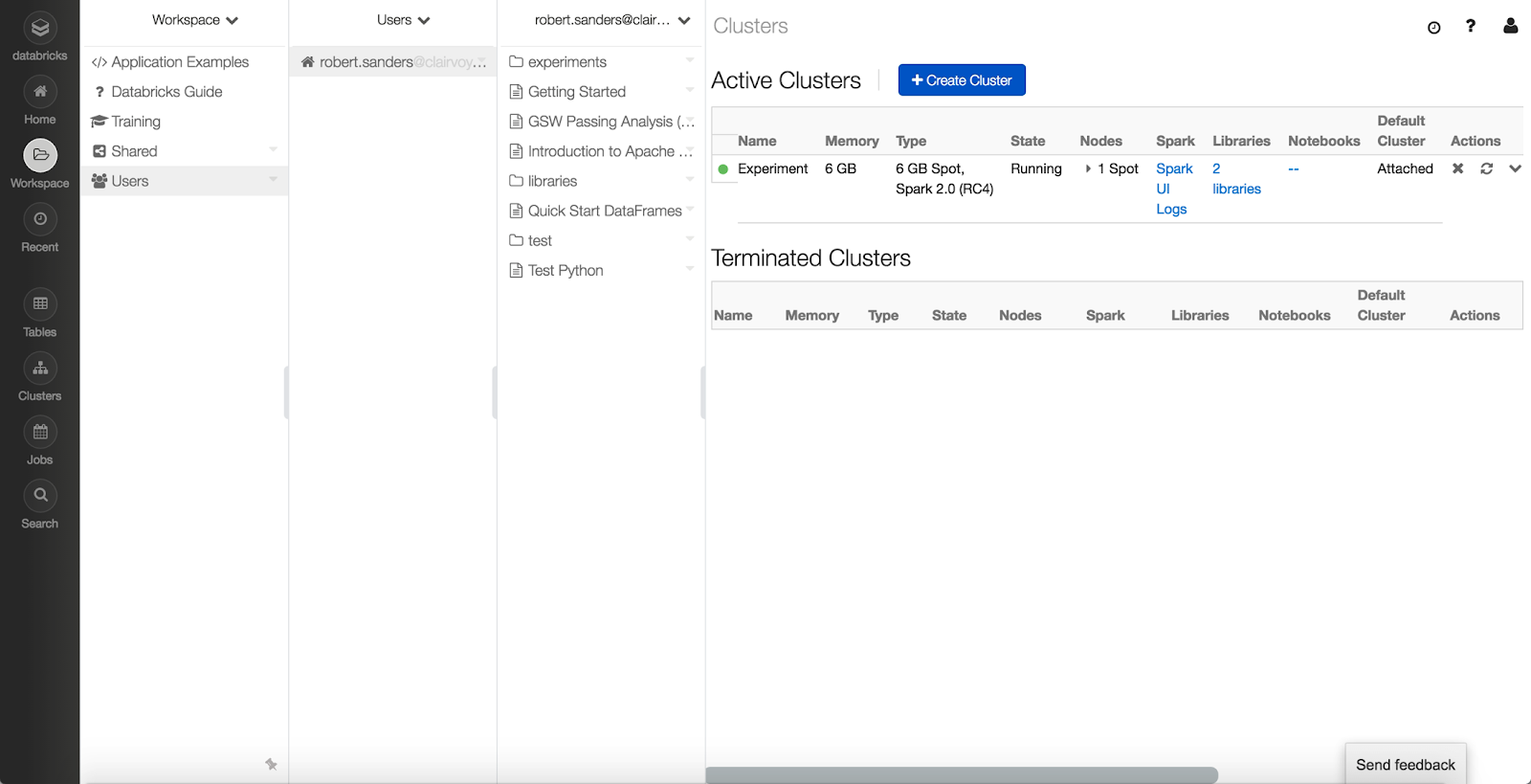 Introduction to the Databricks Community Cloud - Clairvoyant