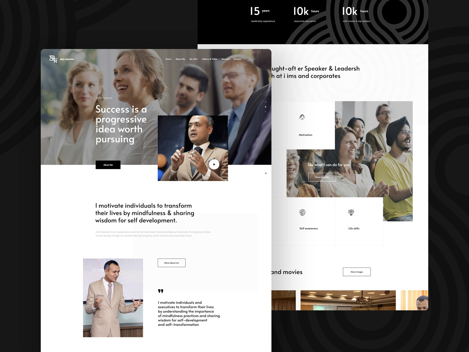 The 25 Best Personal Portfolio Website Design Inspiration Examples By S Khan Makers Byte Medium