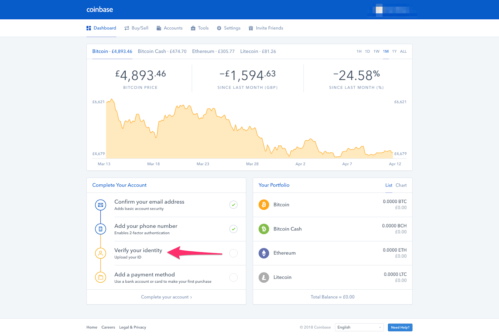 Not known Incorrect Statements About Coinbase Verify Identity Not Working