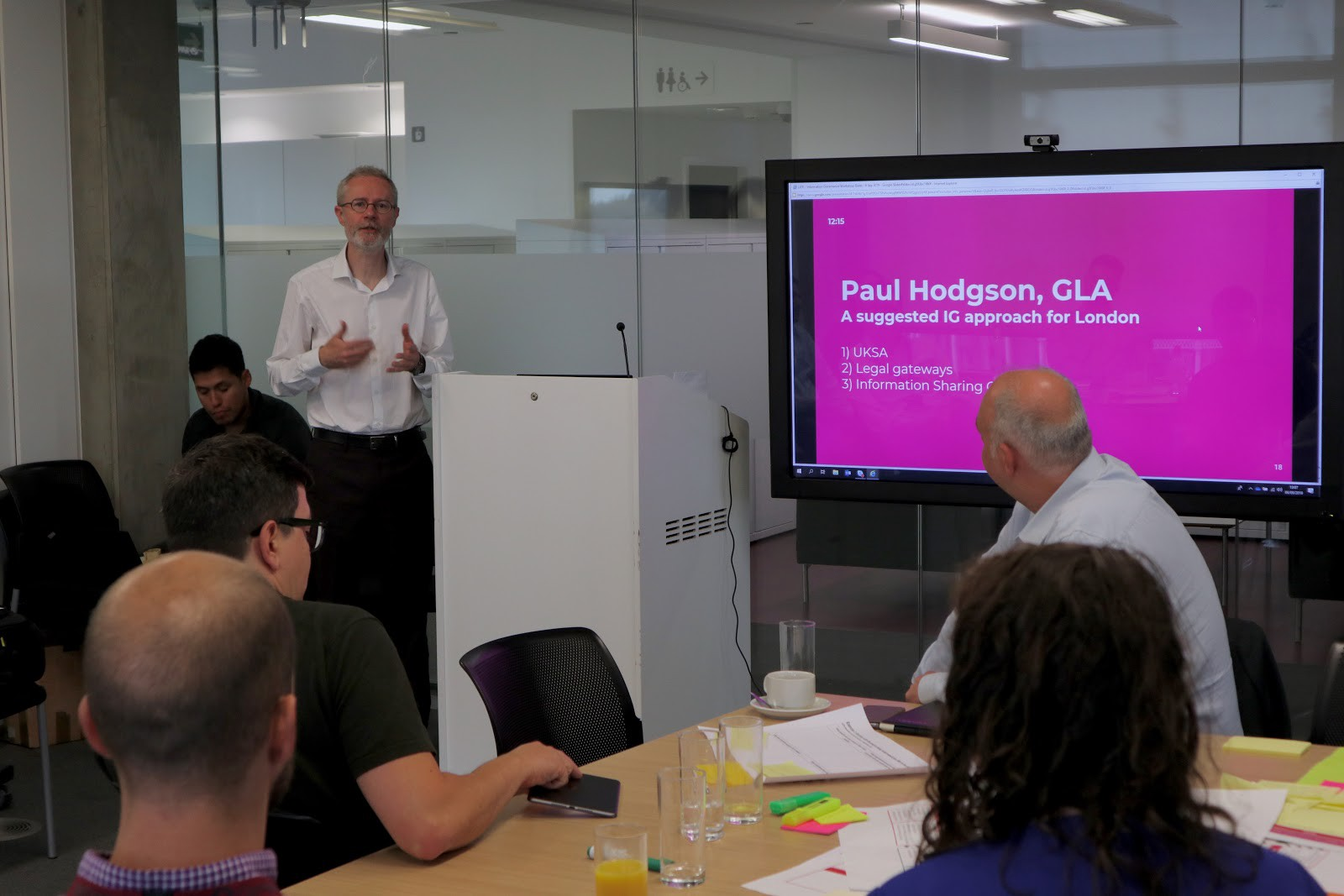 Paul Hodgson, Senior Manager for City Data at the Greater London Authority (GLA)