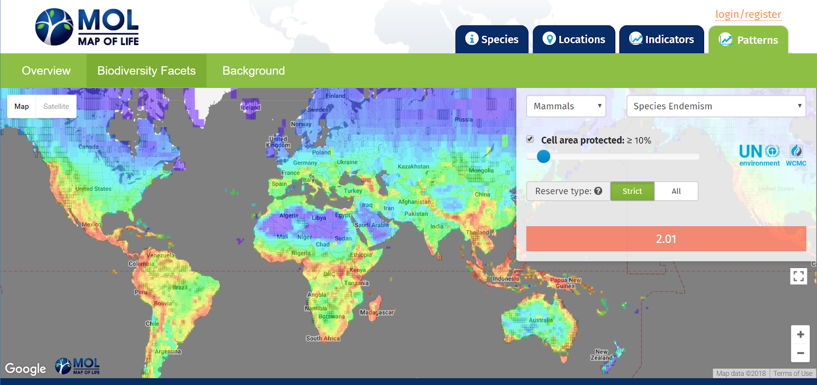 Mapping Species for Half Earth   Google Earth and Earth Engine