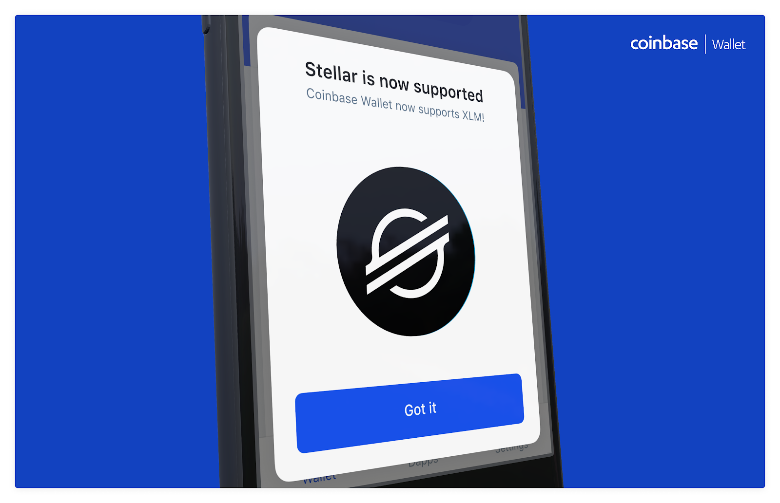 Announcing Stellar Lumens (XLM) Support on Coinbase Wallet