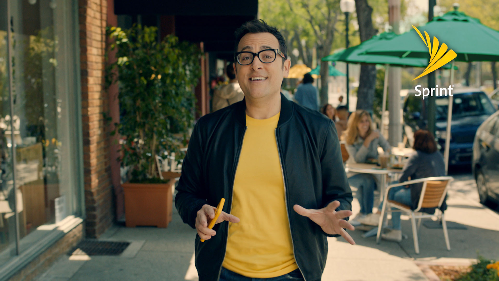 The Sprint advertising guy