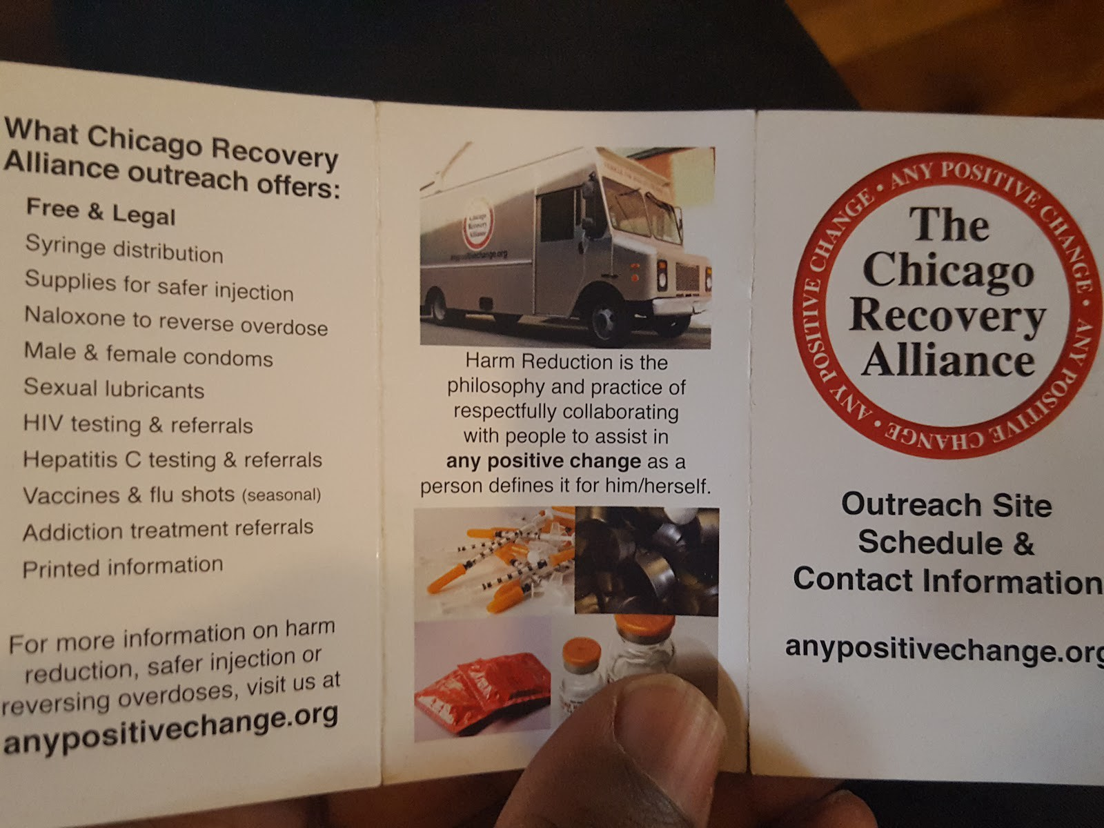 The Magical Silver Truck: Chicago Recovery Alliance and Its