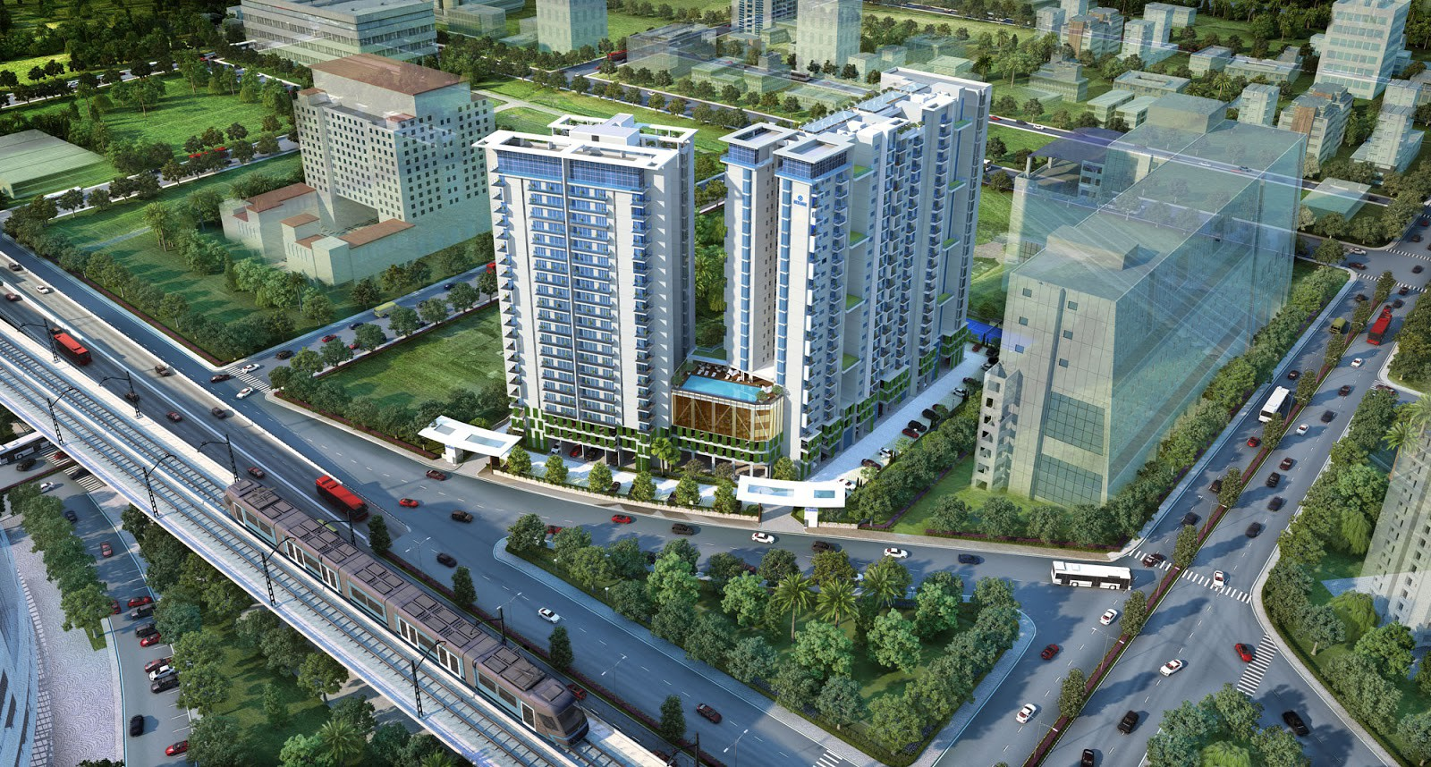 luxury residential complex in Kolkata