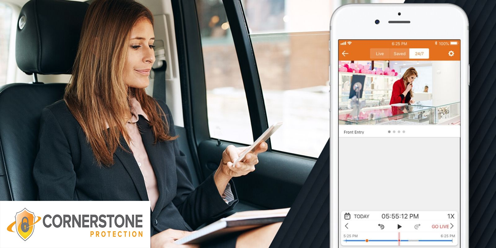 control your security systems from anywhere cornerstone protection