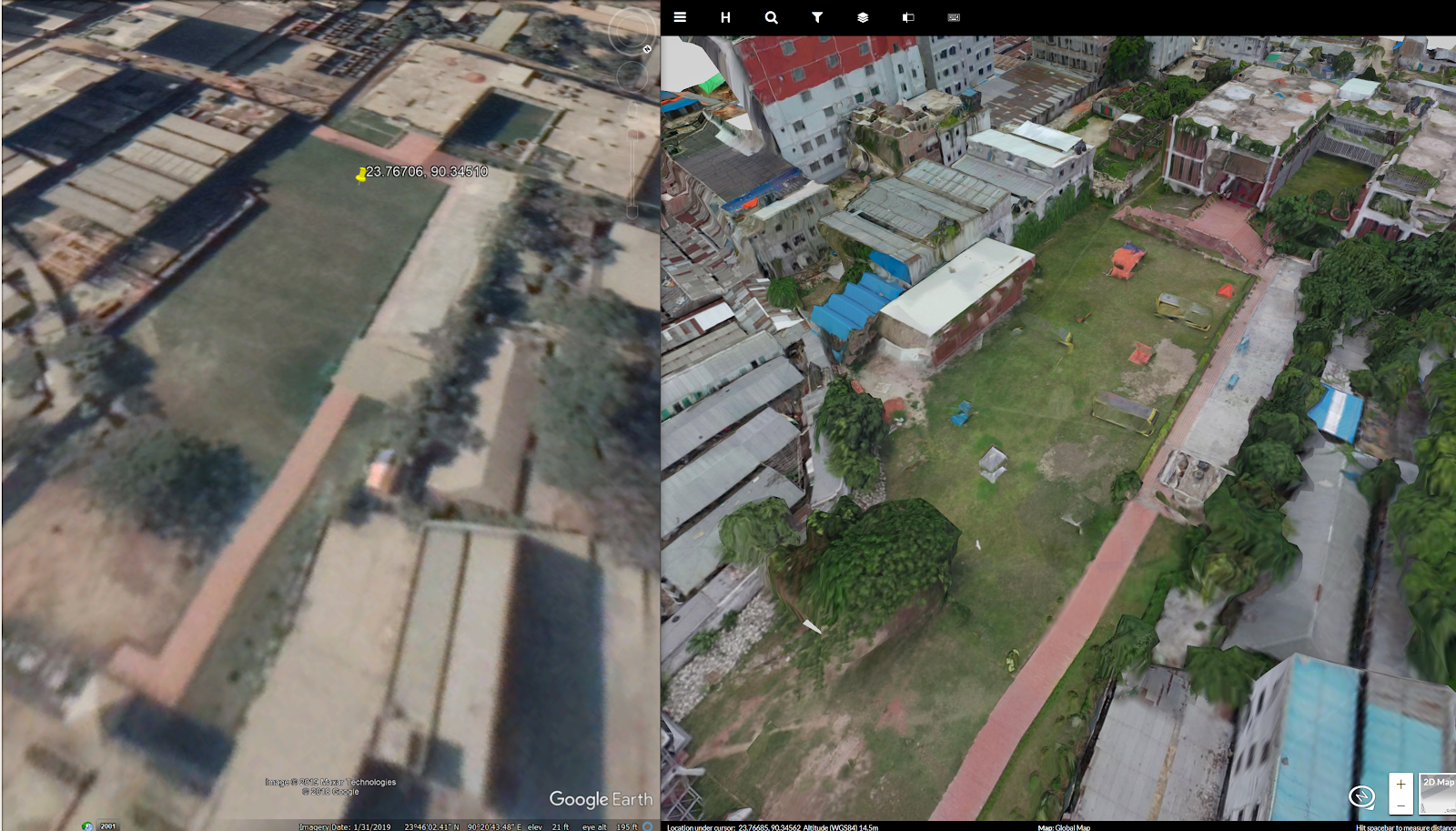 Mapping informal settlements in Bangladesh - The Official