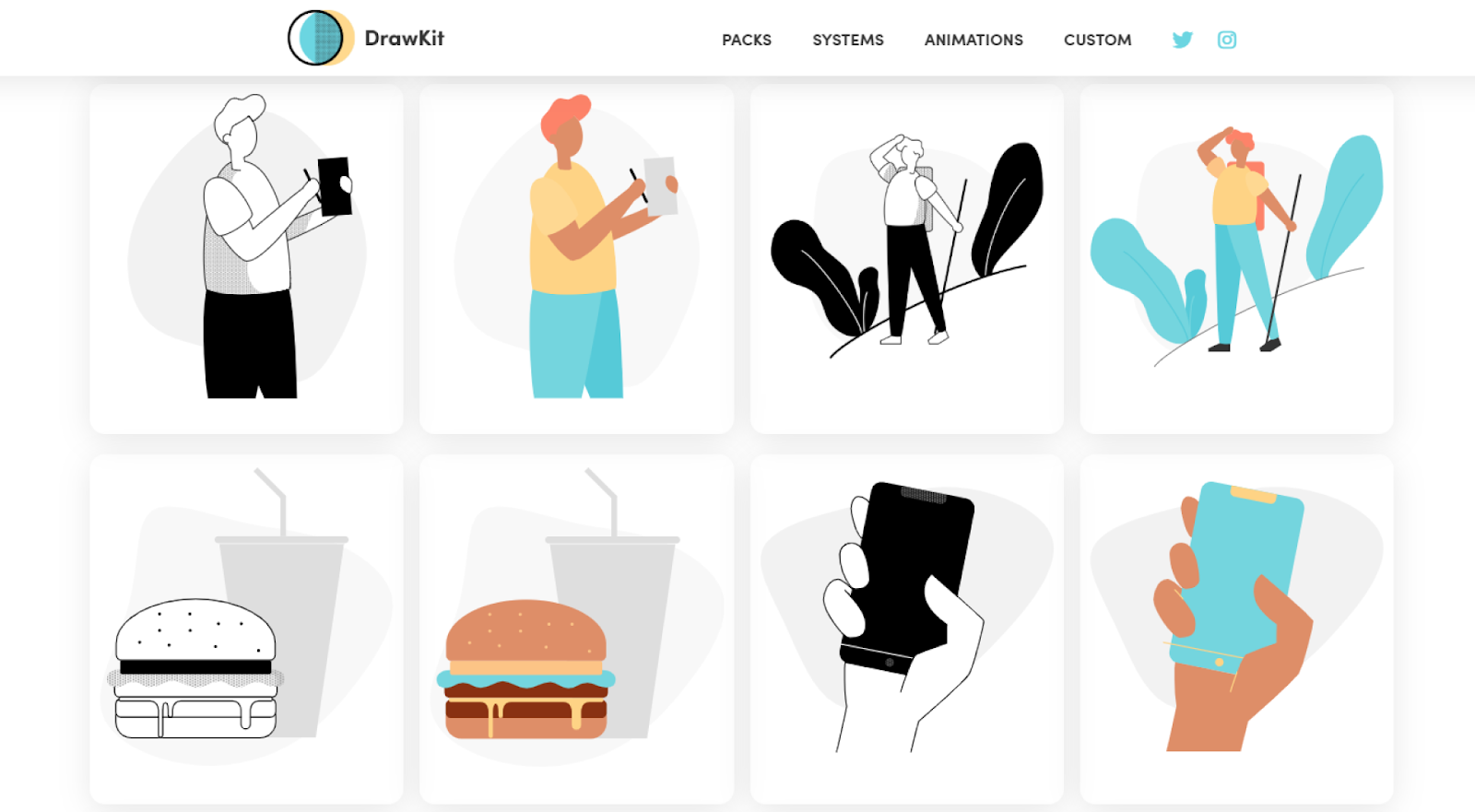 13 Places To Find Beautiful Free Illustrations By Ahmed Sulaiman Prototypr