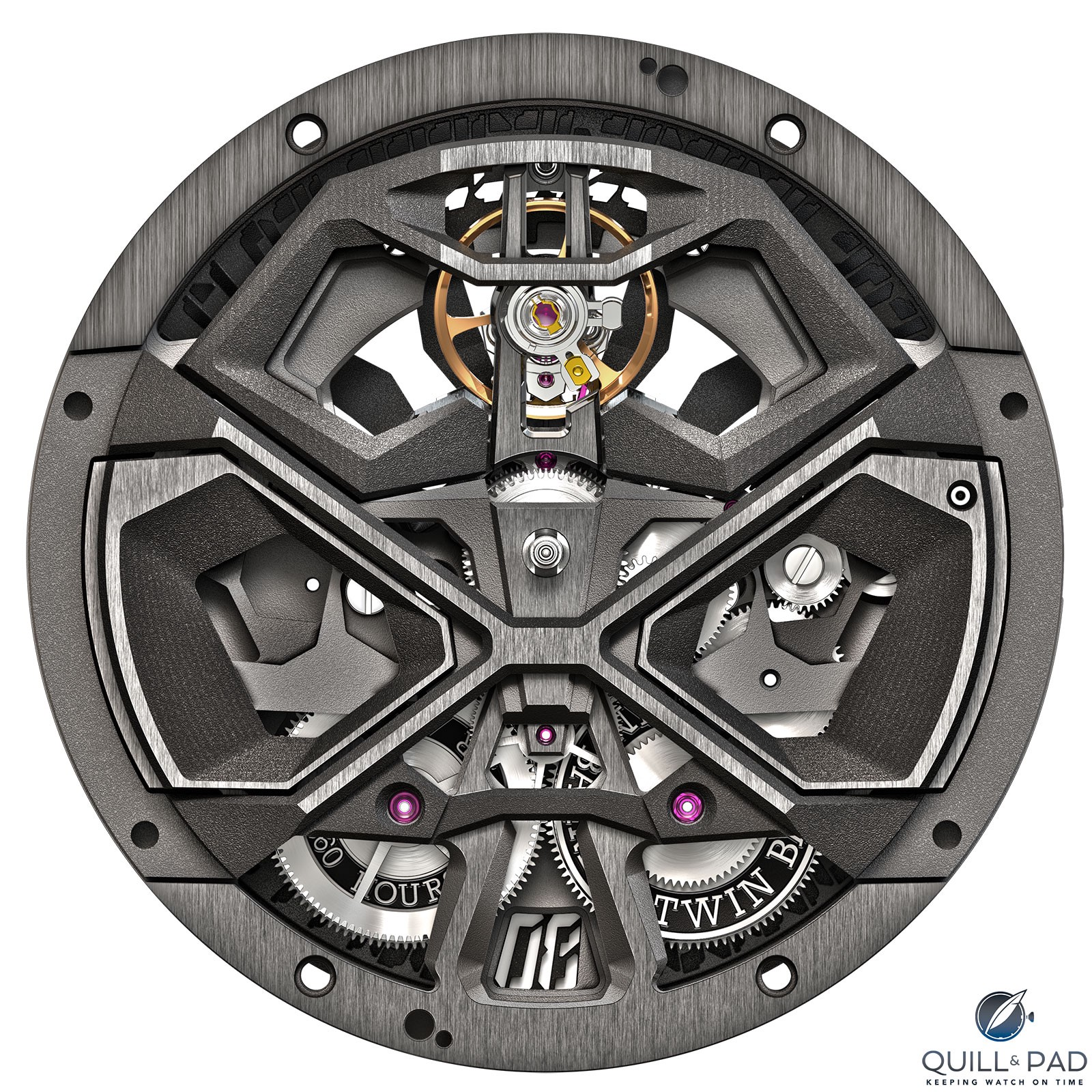Roger Dubuis Caliber RD60 powers the Excalibur Huracán Performante