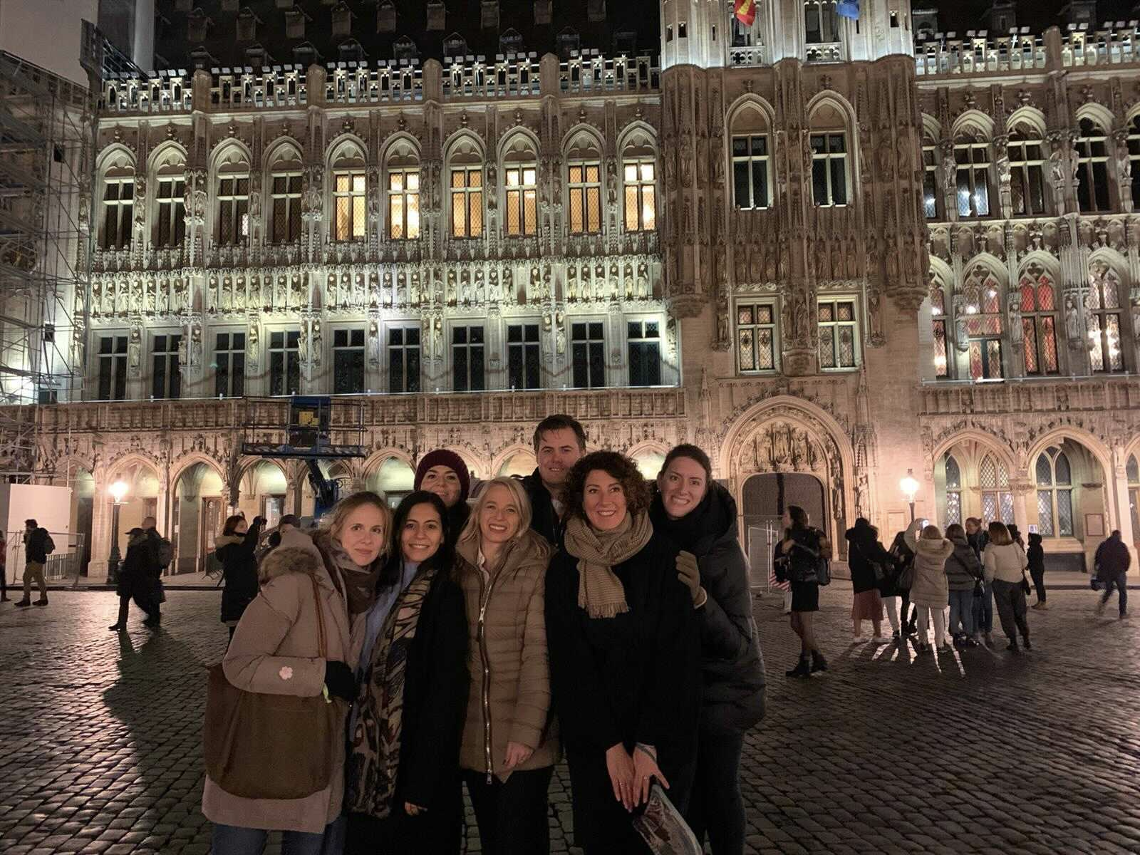 FREE NOW Public Affairs team in Brussels
